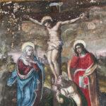 Santuario della Madonna delle Grazie dipinto crocifissione
