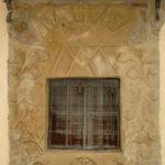 Santuario dell'Icona Passatora finestra in un unico blocco