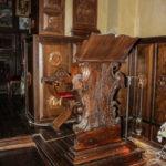 Santuario della Madonna delle Grazie leggio ligneo