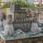 Parco in Miniatura modellino di Rocca Calascio