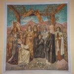Chiesa Santissimo Crocifisso pano affresco