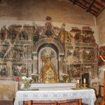 Chiesa di Sant'Antonio Abate pano altare