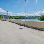 Lago Scandarello diga della Battaglia