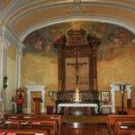 Chiesa Santissimo Crocifisso pano navata