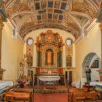 Chiesa Immacolata Concezione navata con altare