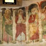 Chiesa di Sant'Antonio Abate pano parete affrescata