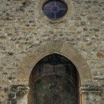Santuario della Madonna di Filetta pano facciata particolare
