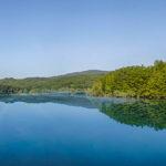 Lago Scandarello veduta del lago