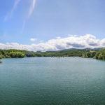 Lago Scandarello pano vista del lago