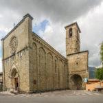 Chiesa di Sant'Agostino con porta carbonara