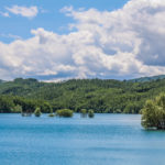 Lago Scandarello panorama sul lago
