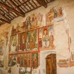 Santuario dell'Icona Passatora parete affrescata interna