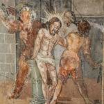 Chiesa di Sant'Antonio Abate particolare del ciclo di affreschi
