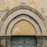 Ex Chiesa di San Fortunato particolare del portone