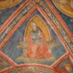 Santuario dell'Icona Passatora particolare dell'affresco 1