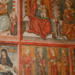 Santuario dell'Icona Passatora particolare dell'affresco