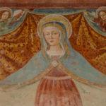 Santuario della Madonna di Filetta particolare affresco