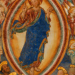 Santuario della Madonna di Filetta particolare affresco abside