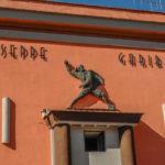 Cinema Teatro Comunale Giuseppe Garibaldi particolare della facciata