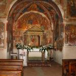 Santuario dell'Icona Passatora particolare della navata