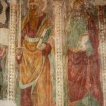 Chiesa di Sant'Antonio Abate particolare affresco