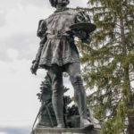 Parco in Miniatura particolare della statua a cola filoteso