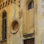 Ex Chiesa di San Fortunato particolare delle mura
