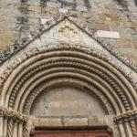 Chiesa di Sant'Agostino particolare superiore del portale
