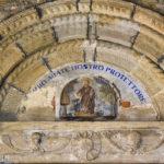 Chiesa di Sant'Antonio Abate particolare superiore del portale