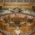 Chiesa di Santa Maria del Suffragio particolare superiore dell'altare