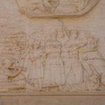 Chiesa di Santa Maria Assunta bassorilievo particolare