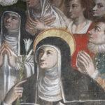 Santuario della Madonna delle Grazie particolare del dipinto 2