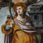 Santuario della Madonna delle Grazie particolare del dipinto 3