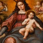 Museo Civico Cola Filotesio dipinto Madonna Incoronata