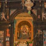 Santuario della Madonna delle Grazie particolare dell'altare