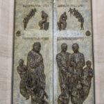 Chiesa di Santa Maria Assunta bassorilievo del portale