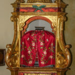 Chiesa Santissimo Crocifisso reliquiario con sangue di Gesù crocifisso