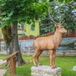 Parco in Miniatura riproduzione del cervo