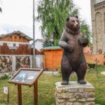 Parco in Miniatura riproduzione dell'orso bruno