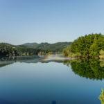 Lago Scandarello scorcio del lago