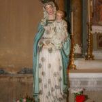 Chiesa di Sant'Antonio Abate statua della Madonna col Bambino