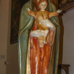 Chiesa di Sant'Agostino statua della Madonna