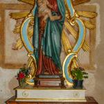 Santuario dell'Icona Passatora statua della Madonna con bambino