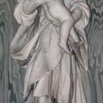 Chiesa di Santa Maria del Suffragio statua di San Giuseppe con Gesù