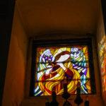 Santuario della Madonna delle Grazie vetrata decorata