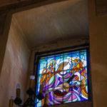 Santuario della Madonna delle Grazie vetrata decorata 2