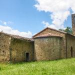 Santuario della Madonna di Filetta vista posteriore esterno