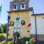 Chiesa Castel San Pietro particolare campanile