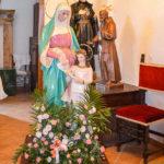 Chiesa Castel San Pietro gruppi statuari